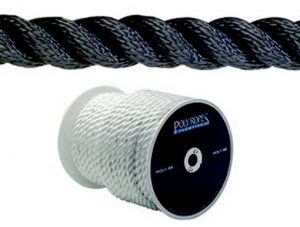 POLYESTER SUPERIOR NEGRO 16mm. (85 m)
