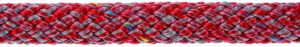 POLY-BRAID-32 12 mm Gris/Rojo (85m)