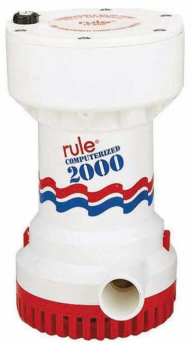 BOMBA RULE AUT. 2000 GPH. 12V.