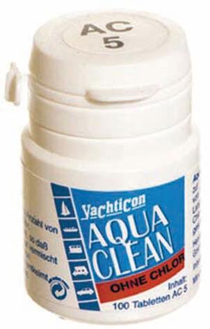AQUA CLEAN AC 5 -SIN CLORINES- 100 TABLETAS