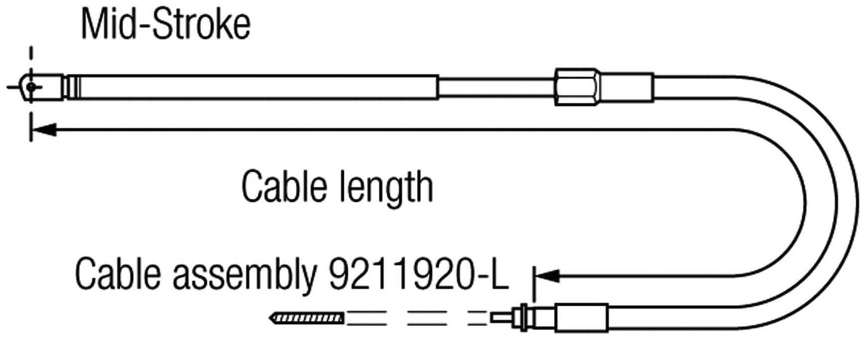 CABLE DIREC. C-230   2.50 MTS.